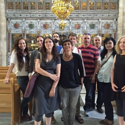 SFP shared cities change agents course grads visit Ramle and Lydda