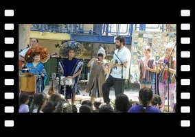 Andes Trio music performance at the Primary School